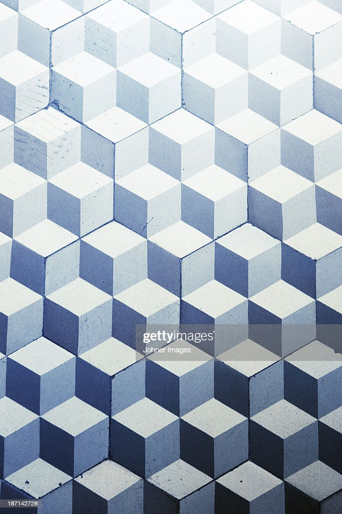 Pattern floor, close-up
