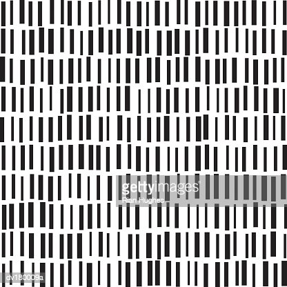 Pattern of black rectangles on white background : Stock Photo
