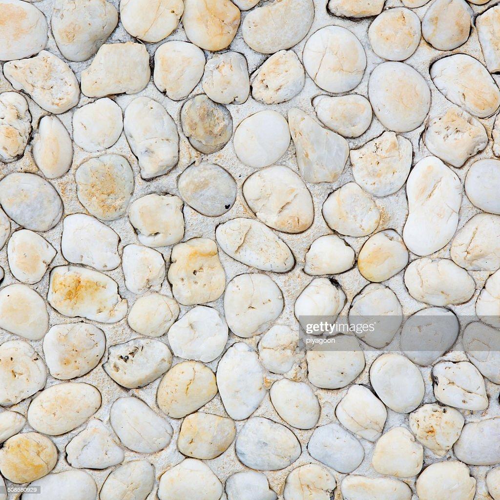 pattern of decorative slate stone wall surface : Stock Photo