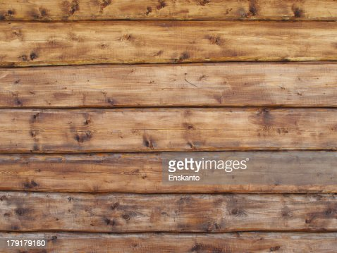 Pattern of old weathered timbered wall : Stock Photo