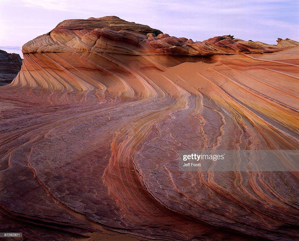 Patterns In The Navajo Sandstone Look Like Gentle Waves Paria