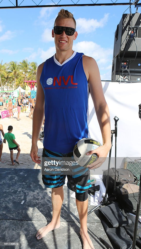 KC Patterson attends Dirty Dutch Model Volleyball Tournament 2013 on February 9, 2013 in Miami Beach, Florida.