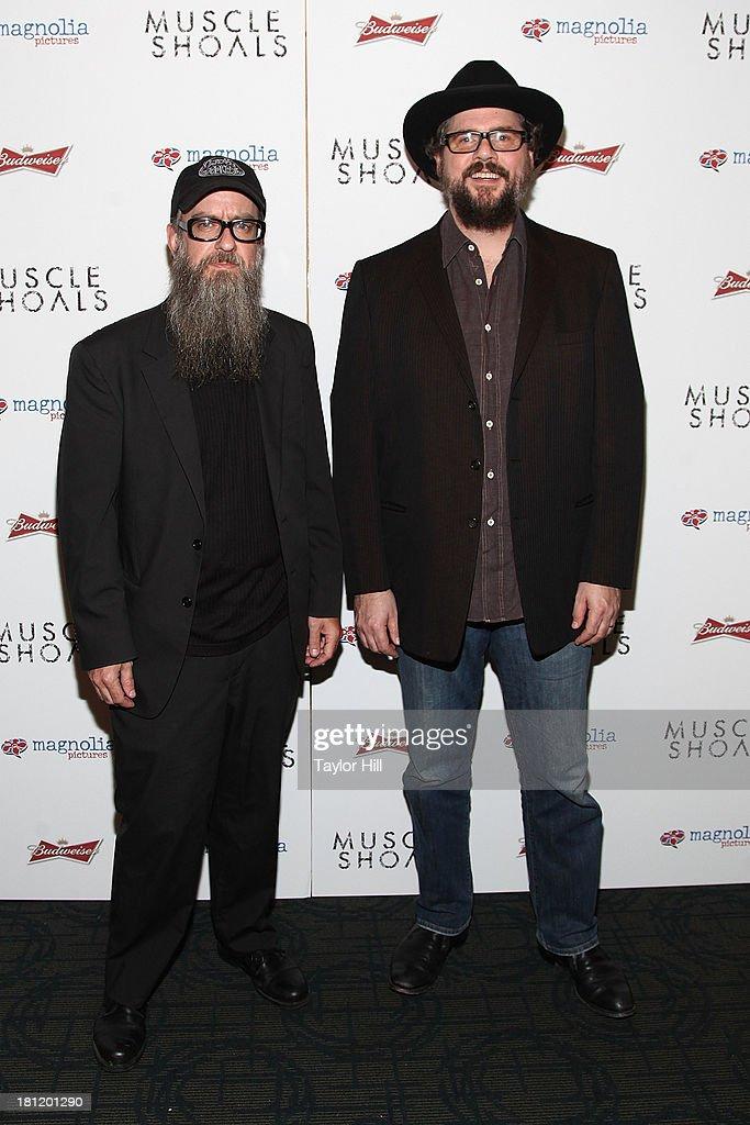 Patterson Hood attends the 'Muscle Shoals' New York screening at Landmark Sunshine Cinemas on September 19, 2013 in New York City.