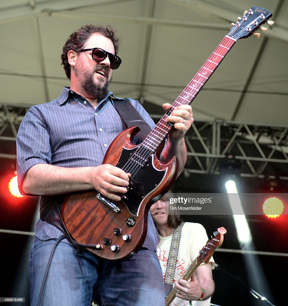 Patterson Hood of the Drive-By Truckers performs during the 2014 Bonnaroo Music & Arts Festival on June 14, 2014 in Manchester, Tennessee.