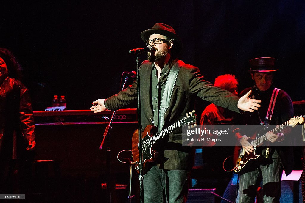 Patterson Hood performs at the 18th annual Music Masters series honoring The Rolling Stones at the State Theatre on October 26, 2013 in Cleveland, Ohio.