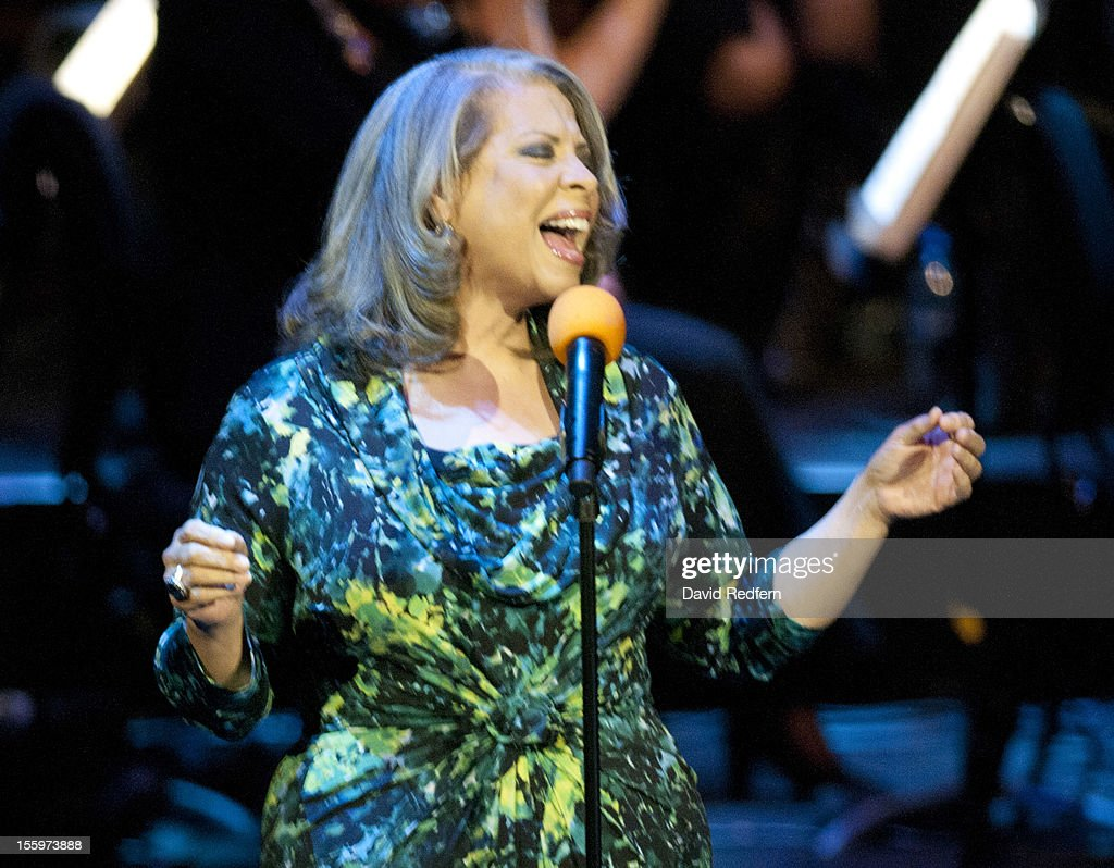 <a gi-track='captionPersonalityLinkClicked' href=/galleries/search?phrase=Patti+Austin&family=editorial&specificpeople=782729 ng-click='$event.stopPropagation()'>Patti Austin</a> performs on stage at Jazz Voice, Barbican for the London Jazz Festival on November 9, 2012 in London, United Kingdom.