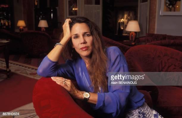 Patti Davis fille de Reagan sort 'Secrets de Famille' un livre sur le clan Reagan le 9 juin 1992 a Paris France