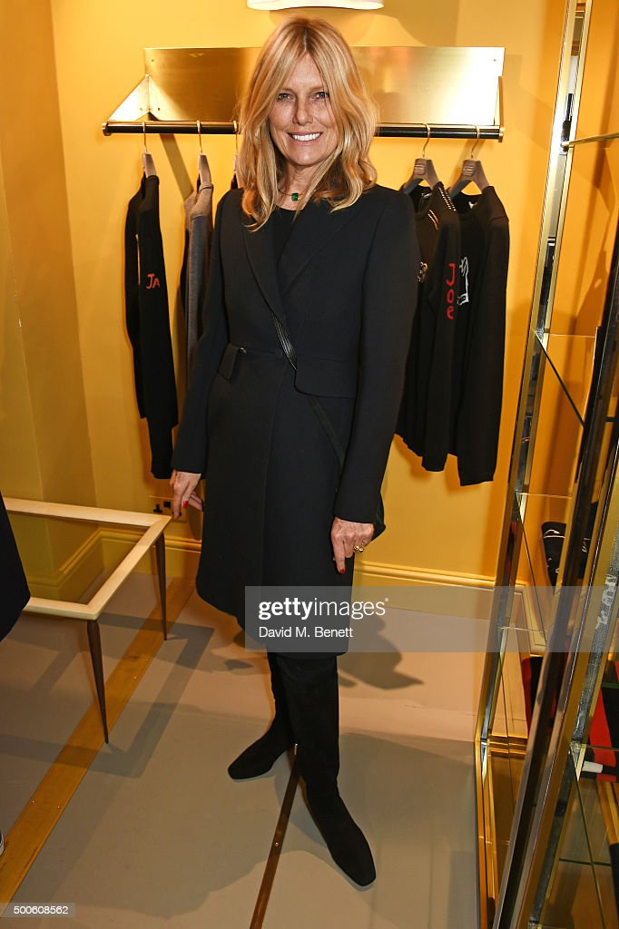 Patti Hansen attends the Bella Freud store launch in Marylebone on December 9, 2015 in London, England.