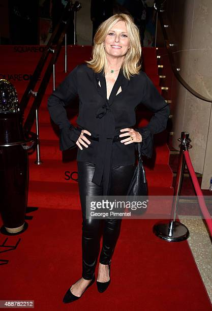 Patti Hansen attends the 'Keith Richards Under The Influence' premiere during the 2015 Toronto International Film Festival at Princess of Wales...