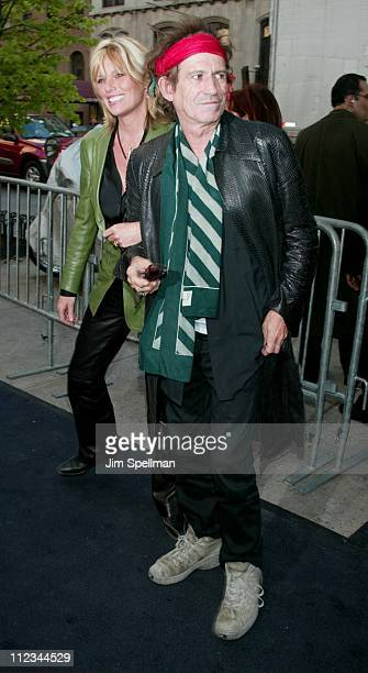Patti Hansen Keith Richards during New York Premiere of 'Hollywood Ending' at Chelsea West Theatre in New York City New York United States