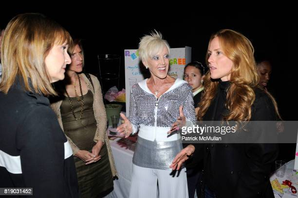Patti Harris High Voltage and Sarah SiegelMagness attend Katie Couric launches EnergyUporg at Young Women's Leadership School 105 East 106th St on...