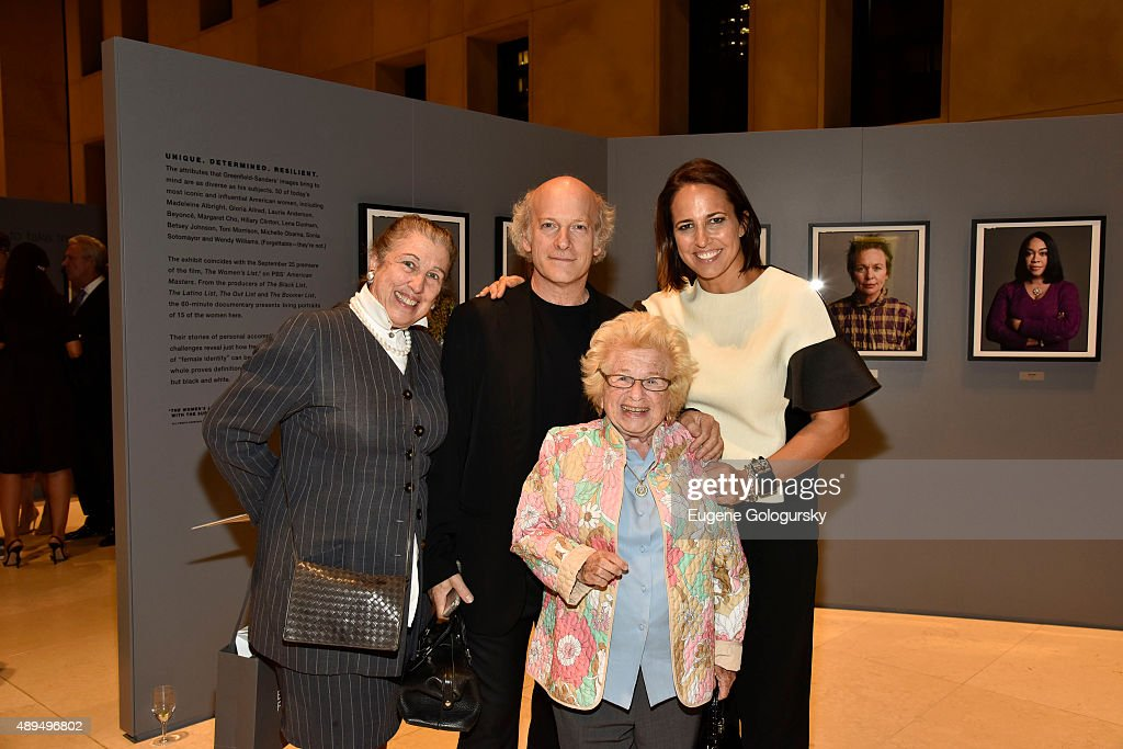 Patti Kenner Timothy GreenfieldSanders Anne Fulenwider and Dr Ruth Westheimer attend the Marie Claire Fidelity And WNET Celebrate The Women's List...