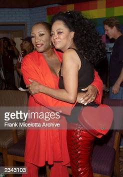 Patti LaBelle and Diana Ross...