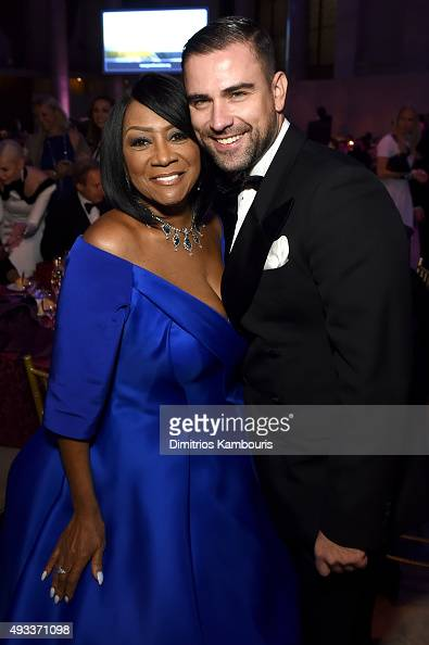 Patti LaBelle and Rubin Singer attend Angel Ball 2015 hosted by Gabrielle's Angel Foundation at Cipriani Wall Street on October 19 2015 in New York...