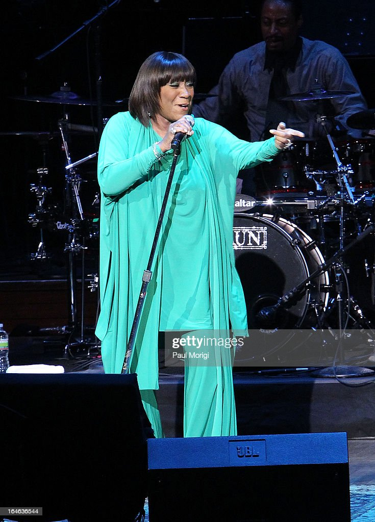 Patti Labelle performs at the 6th Annual Performance Series Of Legends at The John F. Kennedy Center for Performing Arts on March 25, 2013 in Washington, DC.