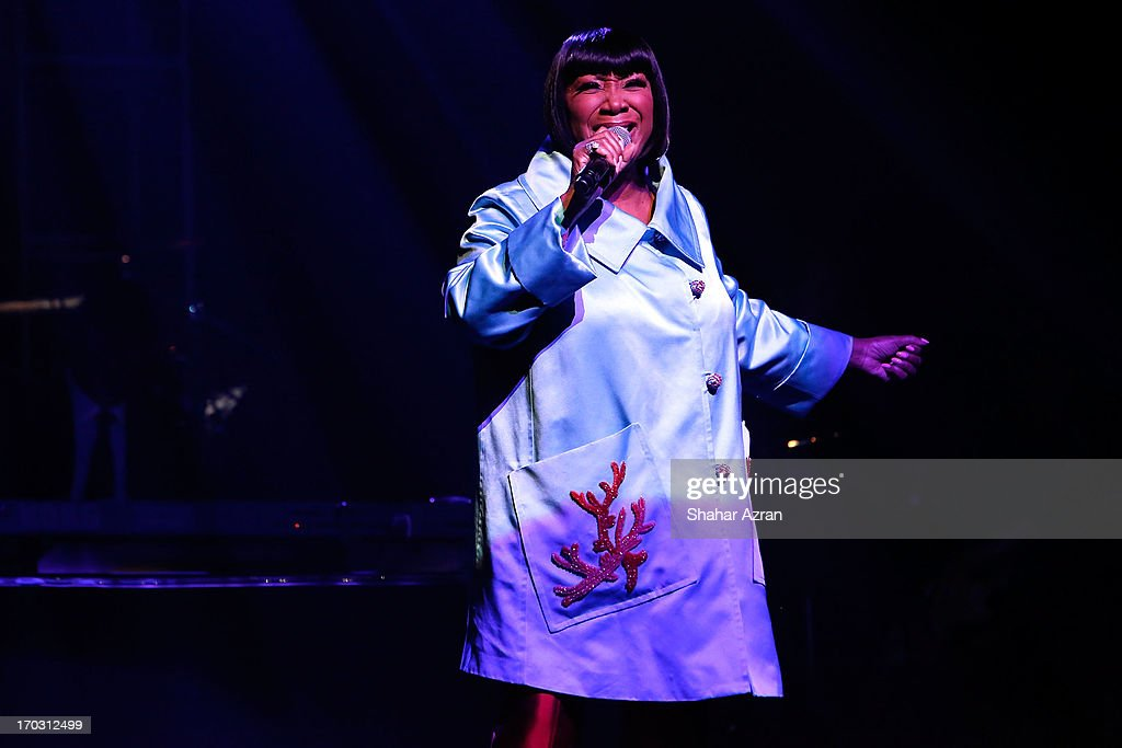 Patti LaBelle performs at the 8th annual Apollo Theater Spring Gala Concert at The Apollo Theater on June 10, 2013 in New York City.
