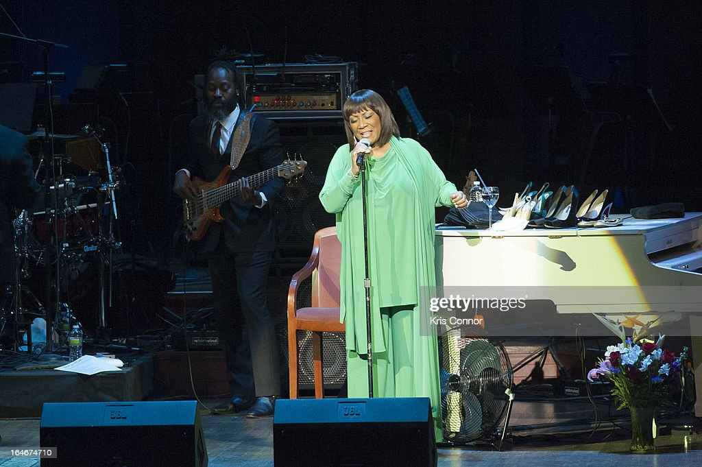 Patti Labelle performs during 6th Annual Performance Series of Legends at The John F. Kennedy Center for Performing Arts on March 25, 2013 in Washington, DC.