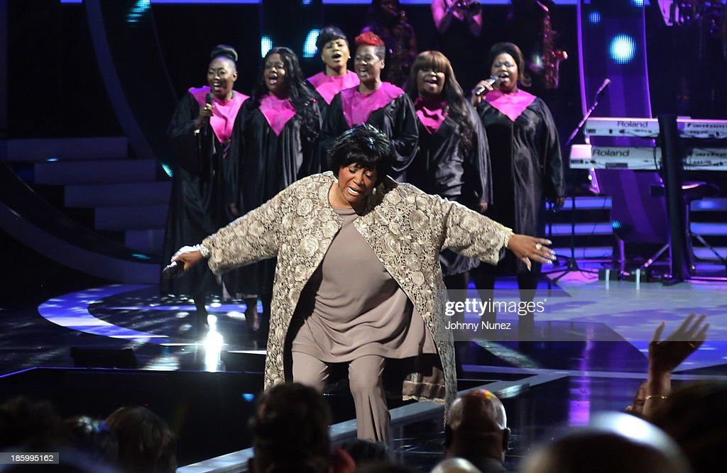 Patti LaBelle performs during Black Girls Rock! 2013 at New Jersey Performing Arts Center on October 26, 2013 in Newark, New Jersey.