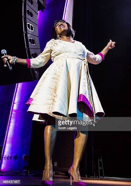 Patti Labelle performs on January 26 2014 in Detroit United States