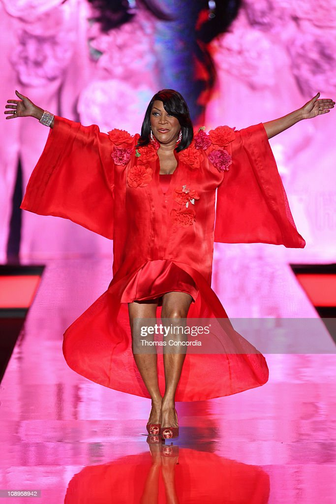 Patti LaBelle wearing Zang Toi at the The Heart Truth's Red Dress Collection fashion show during Mercedes-Benz Fashion Week Fall 2011 at Lincoln Center on February 9, 2011 in New York City.