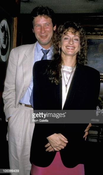 Patti LuPone and guest during ABC Press Party July 19 1989 at Chasen's Restaurant in New York City New York United States