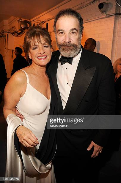 Patti LuPone and Mandy Patinkin attend the 66th Annual Tony Awards at The Beacon Theatre on June 10 2012 in New York City