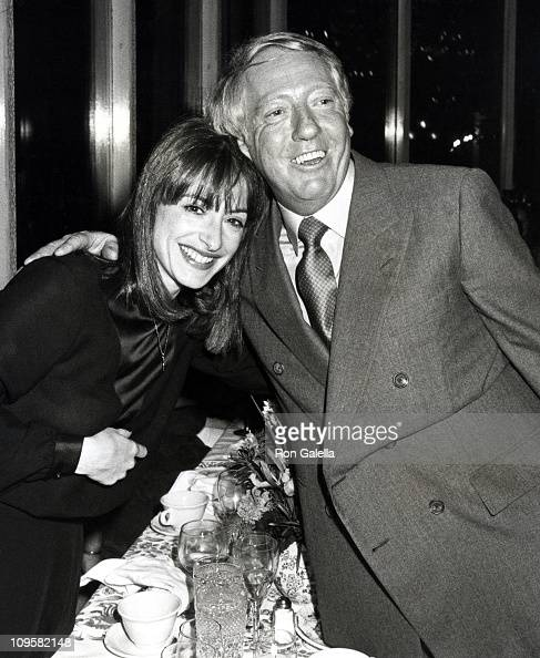 Patti LuPone and Robert Sitgwood during 'Times Square' Opening Night Party October 141980 at Tavern on the Green in New York City New York United...