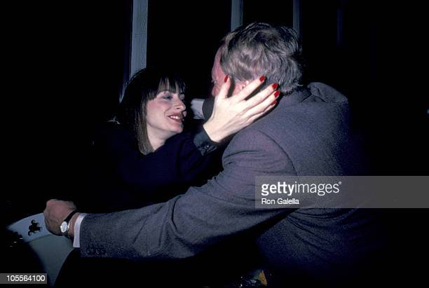 Patti LuPone and Robert Stigwood during 'Times Square' Opening Januaruy 091980 at Ziegfeld Theater in New York City New York United States