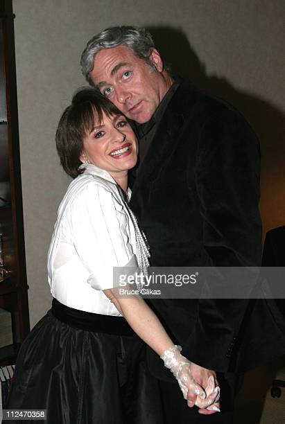 Patti LuPone and Scott Wittman director during Patti Lupone in 'Lady with the Torch' at Feinsteins at The Regency in New York NY United States