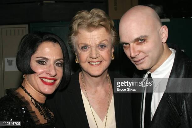 Patti LuPone Angela Lansburyand Michael Cervaris **Exclusive Coverage**