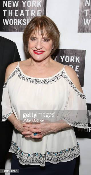 Patti LuPone attends New York Theatre Workshop's 2017 Spring Gala at the Edison Ballroom on May 15 2017 in New York City