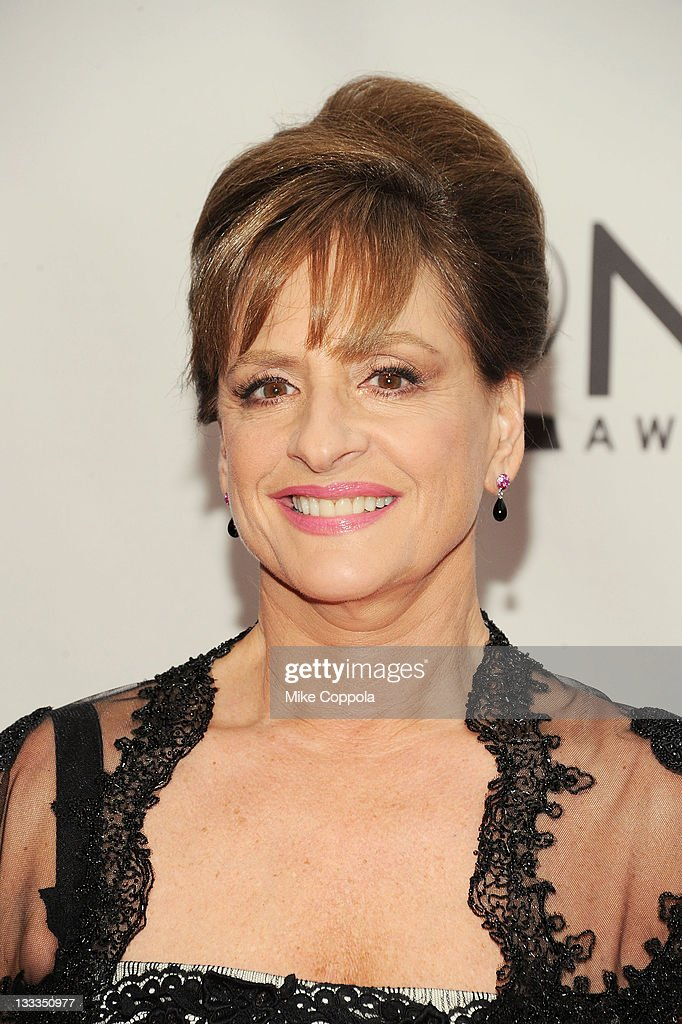 <a gi-track='captionPersonalityLinkClicked' href=/galleries/search?phrase=Patti+LuPone&family=editorial&specificpeople=239072 ng-click='$event.stopPropagation()'>Patti LuPone</a> attends the 65th Annual Tony Awards at the Beacon Theatre on June 12, 2011 in New York City.