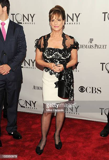 Patti LuPone attends the 65th Annual Tony Awards at the Beacon Theatre on June 12 2011 in New York City
