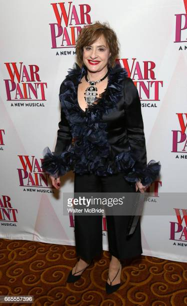 Patti LuPone attends the Broadway opening night after party for 'War Paint' at Gotham Hall on April 6 2017 in New York City