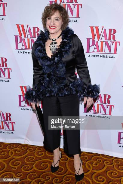 Patti LuPone attends the 'War Paint' Broadway opening night after party at Gotham Hall on April 6 2017 in New York City