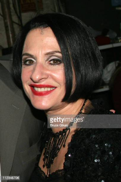 Patti LuPone **Exclusive Coverage** during Angela Lansbury Attends a Performance of 'Sweeney Todd' on Broadway November 15 2005 at The Eugene O'Neill...