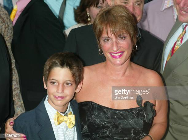 Patti LuPone son Trivia during 'Hairspray' Opening Night on Broadway at Neil Simon Theatre in New York City New York United States