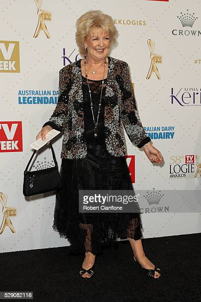 Patti Newton arrives at the 58th Annual Logie Awards at Crown Palladium on May 8 2016 in Melbourne Australia