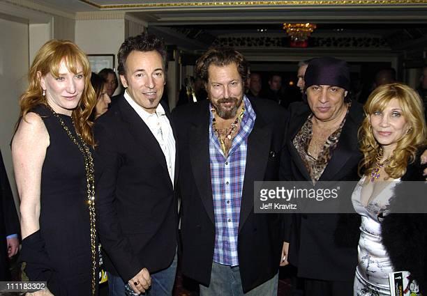 Patti Scialfa Bruce Springsteen Julian Schnabel Steven Van Zandt and Maureen Van Zandt