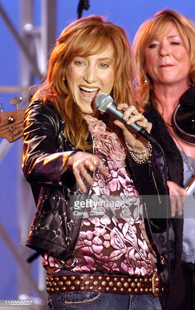 Patti Scialfa during Patti Scialfa Appears on CBS's 'Early Show' June 16 2004 at CBS Plaza in New York City New York United States