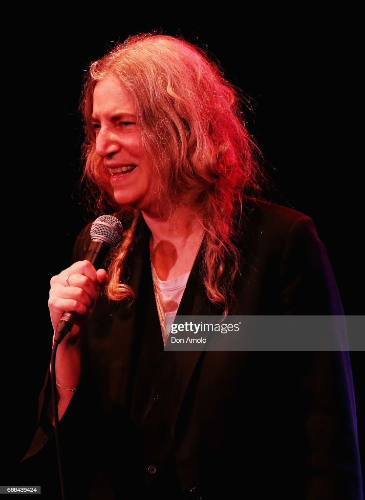 Patti Smith and her band perform their album Horses in its entirety at State Theatre on April 9, 2017 in Sydney, Australia.