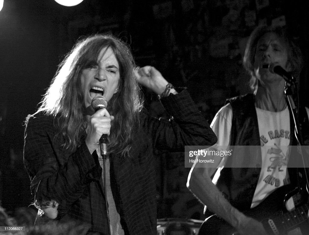 Patti Smith and Special Guests Play Last Ever Show at Legendary CBGB's