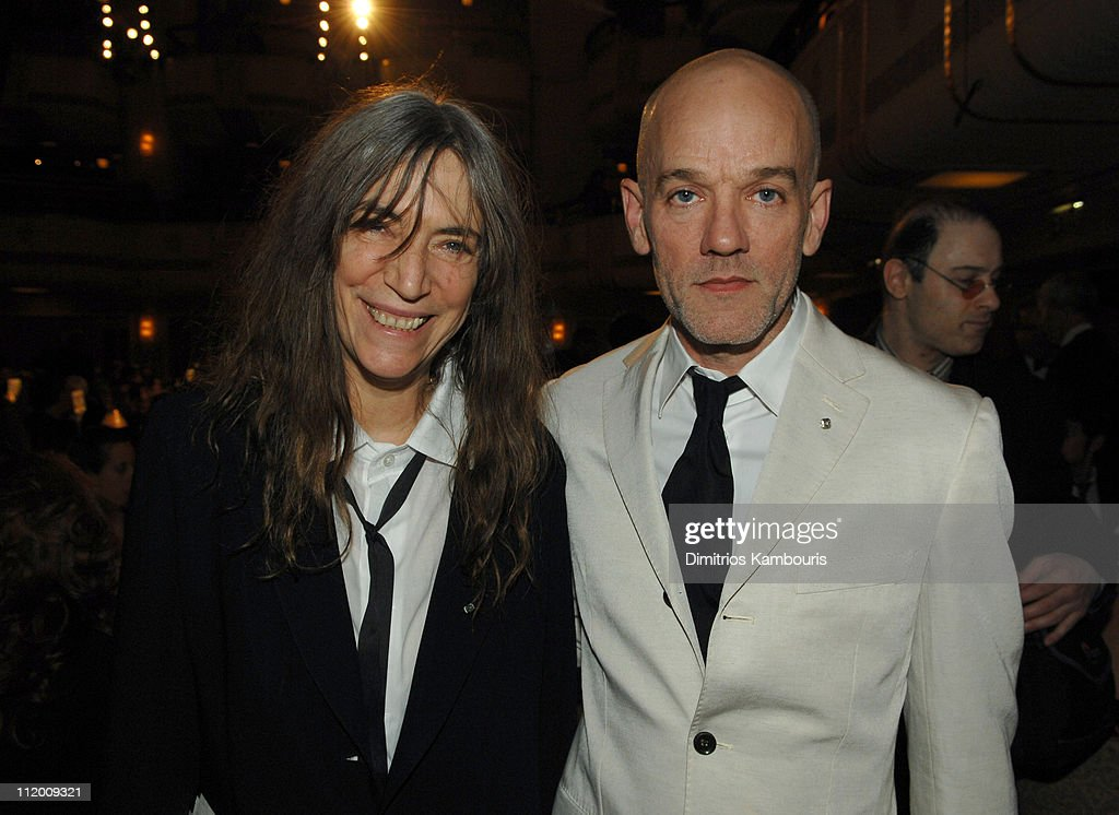 Patti Smith and Michael Stipe of R.E.M., inductees *EXCLUSIVE*