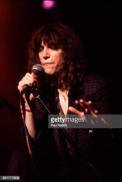 Patti Smith at the Aragon Ballroom in Chicago Illinois June 8 1979