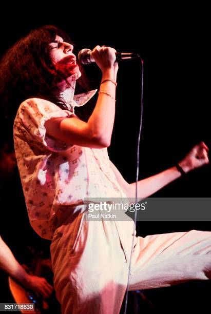 Patti Smith at the Park West in Chicago Illinois April 28 1979