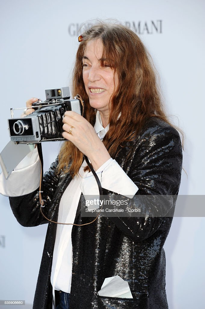 Patti Smith attends the '2010 amfAR's Cinema Against AIDS' Gala - Arrivals