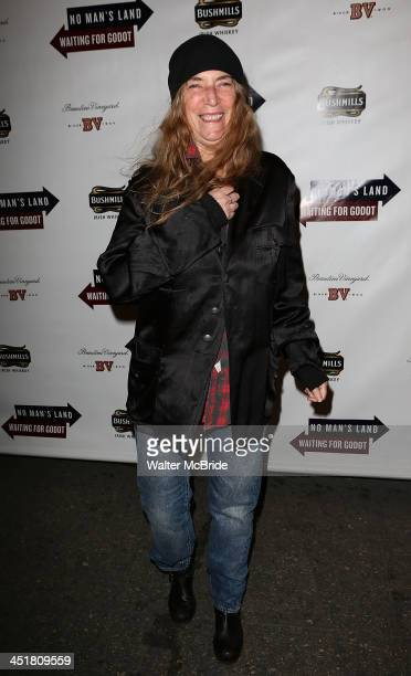 Patti Smith attends the 'Waiting For Godot' Opening Night at the Cort Theatre on November 24 2013 in New York City