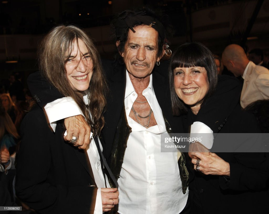 Patti Smith, Keith Richards and Lisa Robinson *EXCLUSIVE*