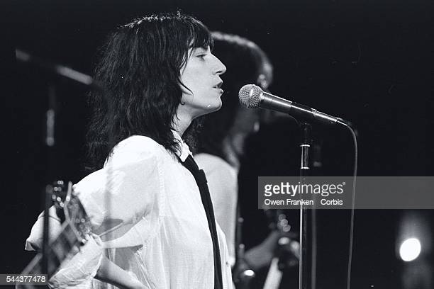 Patti Smith Performing on Saturday Night Live