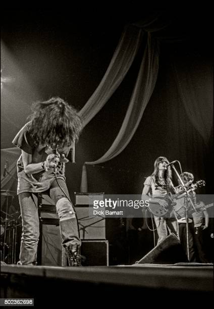 Patti Smith performing on stage Hammersmith Odeon London 22nd October1976